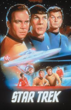 A classic poster from Star Trek: The Original Series. It exhibits what Trek is about: exploration, community, and discovery